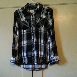 Size 14 Women's long sleeve Justice shirt #4